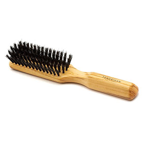 Fendrihan 5 Row Olivewood Hairbrush with Boar Bristles - Best Hair Brushes: Helps Distribute Hair's Natural Oils