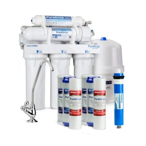 PureDrop 5 Stage Reverse Osmosis Water Filtration System - Best Water Filter Reverse Osmosis: Best for budget