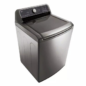 LG 5.0 cu. ft. HE Mega Capacity Smart Washer - Best Washers for Comforters: Operate remotely