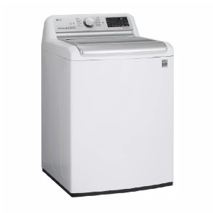 LG 5.5 cu. ft. High Efficiency Mega Capacity Smart Washer  - Best Washing Machine for Pet Hair: 30% less energy
