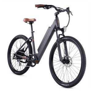 Ride1Up 500 Series - Best Electric Bike with Throttle: For long-distance touring comfort