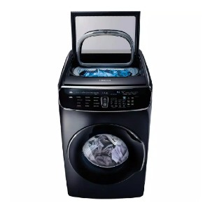Samsung High-Efficiency FlexWash Washer - Best Washers for Large Families: Two washers in one