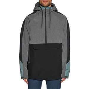 686 Waterproof Anorak Snow Jacket - Best Rain Jackets for Heavy Rain: Audio Hole to Prevent Your Headphones From Getting Tangled Up