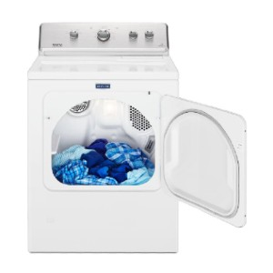 Maytag 7.0 cu. ft. 240-Volt White Electric Vented Dryer - Best Electric Dryers Under $800: Heavy-duty motor