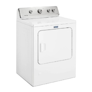 Maytag 7.0 cu. ft. 240-Volt White Electric Vented Dryer - Best Dryers for Large Families: Best for budget
