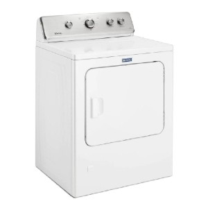 Maytag 7.0 cu. ft. 240-Volt White Electric Vented Dryer  - Best Vented Dryers: Impressive warranty