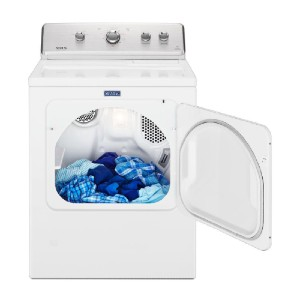 Maytag 7.0 cu. ft. 240-Volt White Electric Vented Dryer - Best Dryers for the Money: Impressive warranty
