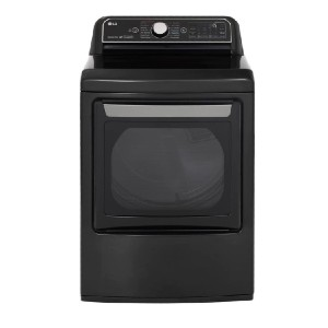LG 7.3 cu ft Ultra Large Smart Front Load Electric Dryer - Best Dryers with Steam: Impressive cycle options