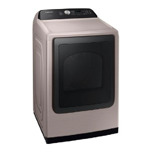 Samsung 7.4 cu. ft. 240-Volt Champagne Electric Dryer - Best Vented Dryers: 4-way venting options