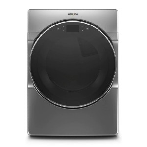 Whirlpool 7.4 cu. ft. Smart Electric Vented Dryer - Best Dryers with Steam: Smart, futuristic-looking appliance