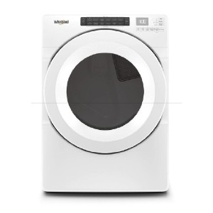 Whirlpool 7.4 cu. ft. 240-Volt White Electric Dryer - Best Dryers Energy Efficient: Intuitive touch control