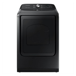 Samsung 7.4 cu. ft. Fingerprint Resistant Stainless Electric Dryer - Best Dryers for the Money: Eliminate 99.9% of germs and bacteria
