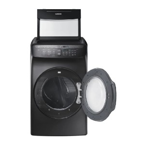 Samsung 7.5 Total cu. ft. Electric FlexDry Dryer  - Best Dryers Energy Efficient: Two dryers in one