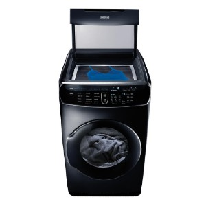 Samsung 7.5 Total cu. ft. Electric FlexDry Dryer - Best Dryers with Steam: Two dryers in one
