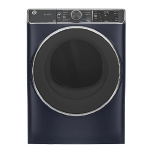 GE 7.8 cu. ft. Smart 240-Volt Stackable Electric Vented Dryer - Best Dryers with Steam: Works in silence