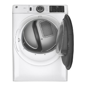 GE 7.8 cu. ft. Smart 240-Volt Stackable Electric Vented Dryer - Best Dryers for Large Families: Inexpensive smart unit