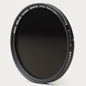 Hoya Variable ND Filter - Best ND Filters for Wedding Photography: Accepts Lens Caps and Other Filters