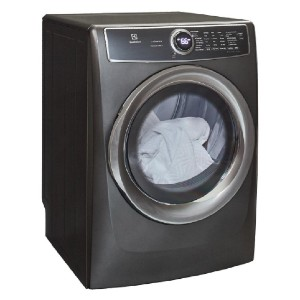 Electrolux 8.0 cu. ft. Electric Dryer with Steam - Best Dryers Energy Efficient: Predicts accurately