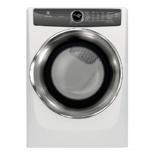 Electrolux 8.0 cu. ft. Front Load Perfect Steam Electric Dryer - Best Dryers for the Money: More items in a single load