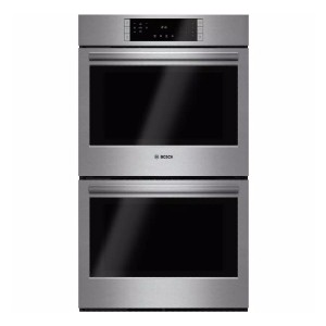 Bosch 800 Series 30 in. Double Electric Wall Oven - Best Double Wall Oven Electric: 12 specialized cooking modes