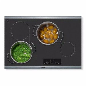 Bosch 800 Series 30 in. Radiant Electric Cooktop - Best Glass Cooktops: 17 settings for precise control