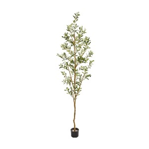 Nearly Natural Olive Tree - Best Artificial Plants for Indoors: Easy to Maintain