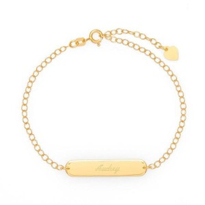 Yafeini Personalized Engravable Name Bar Anklet - Best Jewelry for 25th Wedding Anniversary: Best for budget
