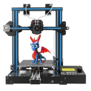 Geeetech A10M - Best 3D Printers for Kids: Well-Designed Extruder