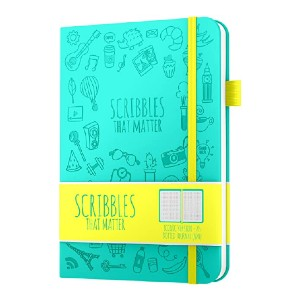 Scribbles That Matter A5 Dotted Journal - Best Notebook for Bullet Journal: Nice pen test page