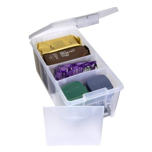 AB Des 6925ABD Semi Satchel with Removable Dividers - Best Photo Storage Boxes with Dividers: Flexible with removable dividers
