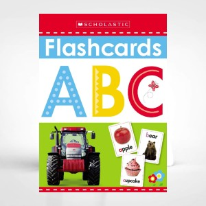 Scholastic ABC Flashcards: Scholastic Early Learners  - Best Flashcards for Baby: Super budget-friendly