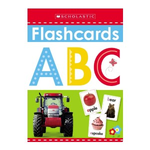Scholastic ABC Flashcards: Scholastic Early Learners - Best Flashcards for 2 Year Olds: Best for budget