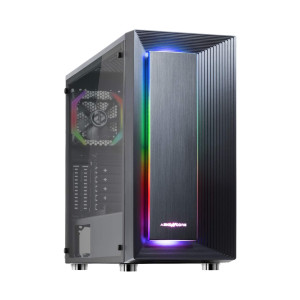 ABKONCORE C510S  - Best PC Cases for Water Cooling: Provide Riser Card Holder
