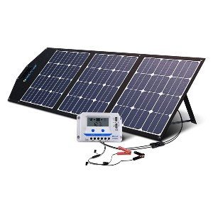 ACOPOWER 120W Portable Solar Panel Kits - Best Solar Panels for RV Battery Charging: Highest conversion efficiency