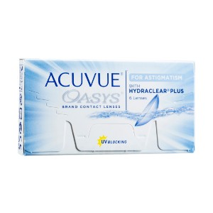 ACUVUE OASYS - Best Contact Lenses for Astigmatism: Tinted for Handling Visibility