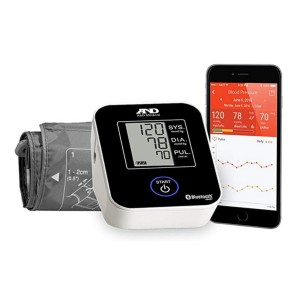 A&D Medical  Deluxe Upper Arm Blood Pressure Monitor with Bluetooth (UA-651BLE)  - Best Blood Pressure Monitor with App: Super easy to connect