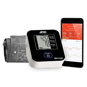 A&D Medical Deluxe Blood Pressure Monitor (UA-651BLE)  - Best Blood Pressure Upper Arm Monitor: It connects easily