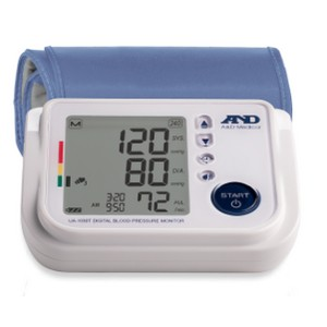 A&D Medical Premium Blood Pressure Monitor with Verbal Assistance - Best Blood Pressure Monitors for Small Arms: Talking multi-lingual device