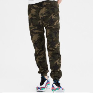 American Eagle Flex Khaki Jogger - Best Sweatpants for Tall Men: All Day Style and For Every Day Comfort