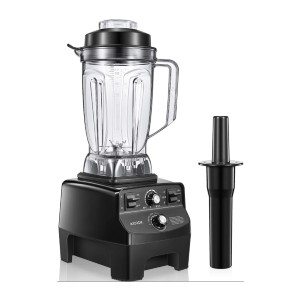 AICOOK Professional Countertop Blender - Best Blender to Crush Ice: Blades from Germany