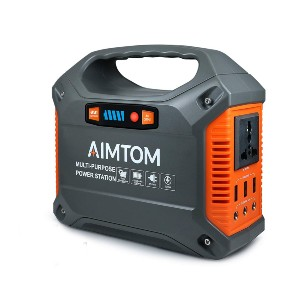 AIMTOM 155Wh Portable Power Station - Best Portable Power Station Under $200: Advanced battery management system