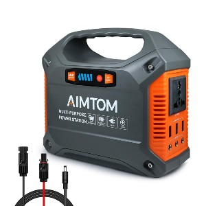 AIMTOM 155Wh Portable Power Station - Best Powerstation for iPhone: Great for a range of tasks