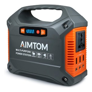 AIMTOM 42000mAh 155Wh Power Station - Best Power Station for Home: Best for budget