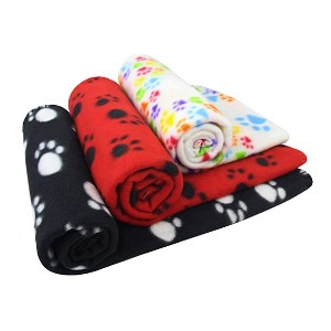 AK KYC 3 Pack Puppy Blanket - Best Dog Blankets for Chewers: Deal with your chewers