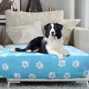 AK KYC 6 Pack Mixed Puppy Blanket  - Best Dog Blankets for Sofa: Get six adorable blankets