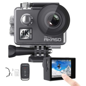 AKASO V50 Elite - Best GoPro for Vlogging: Waterproof Camera Up To 131FT