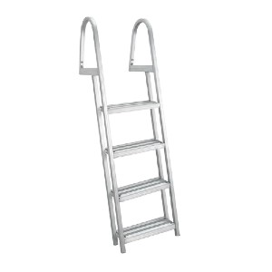 RecPro AL-A4 - Best Boat Ladders: Sturdy and Supportive
