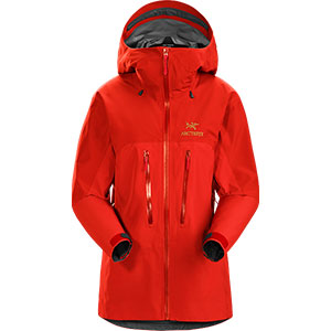 Arc'teryx Andra ALPHA AR JACKET WOMEN'S - Best Rain Jackets for Scotland: Versatility for Any Occasions