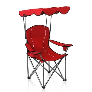 ALPHA CAMP Camp Chairs with Shade Canopy - Best Folding Chair with Canopy: Extra supporting frame