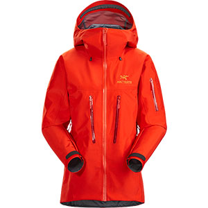 Arc'teryx Andra ALPHA SV JACKET WOMEN'S - Best Rain Jackets for Alaska: For Severe Alpine Condition